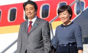 Japanese Prime Minister Abe