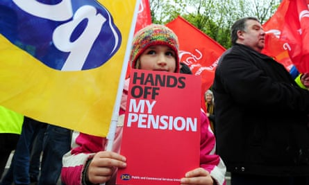 PCS strike over pay and pensions