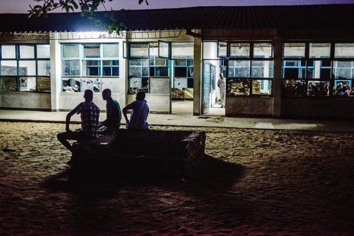 The town's secondary school, Escola Secundária de Chicumbane