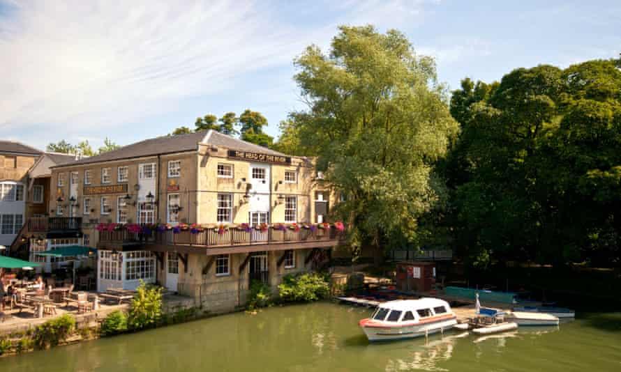 The Isis - part of the river Thames that flows through Oxford.