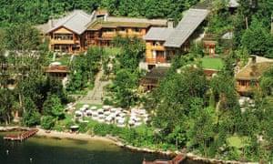 One of Bill Gates's multi-million dollar homes.