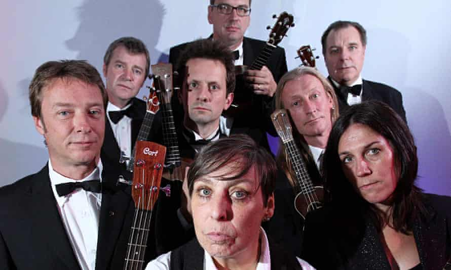 The Ukulele Orchestra of Great Britain, which accuses its rival of copying its trademark and 'misapp