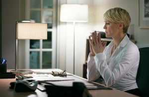 """Robin Wright as Clair Underwood in a scene from """"House of Cards."""""""