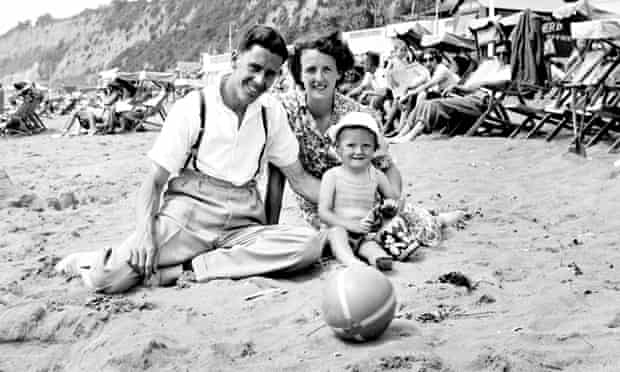 Brian May on holiday with his parents