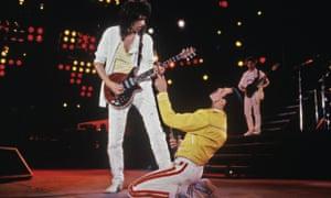 Queen Brian May Freddie Mercury