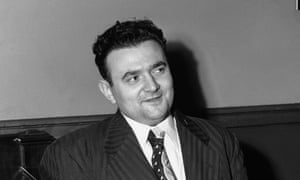 David Greenglass sits in federal court in New York in 1951.