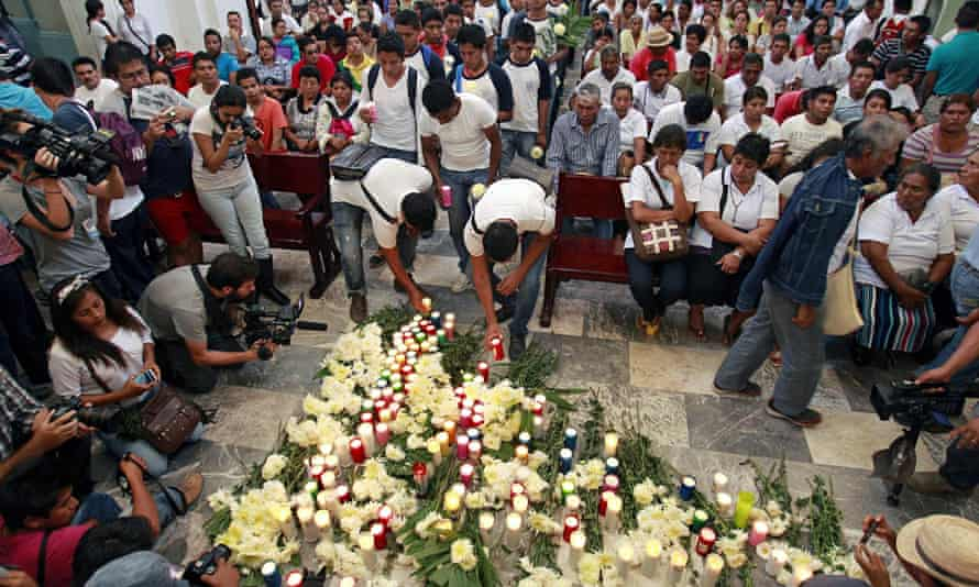 Mass for missing students in Mexico
