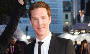 Benedict Cumberbatch at the London film festival screening of The Imitation Game