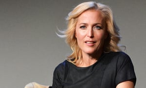 Gillian Anderson … the actor is keen to join the cast of Ghostbusters 3.