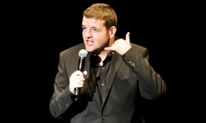 Kevin Bridges at the Assembly Rooms, Edinburgh, in 2010.