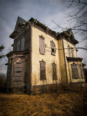 A derelict former family home. Cleveland photographer Johnny Joo, 23, believes that with no prospect of restoration, properties such as these will continue to decay