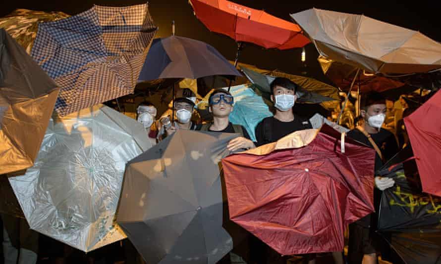 Pro-democracy protesters Hong Kong