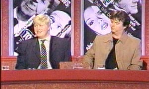 Gift of the gab: on Have I Got News For You with Paul Merton in 2004.