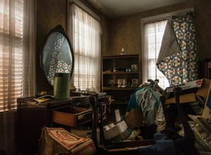 Another former bedroom filled with old junk and furniture