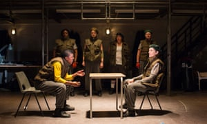Walter with Ann Ogbomo as Worcester in Henry IV.