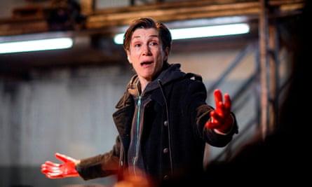 Walter as Brutus in Julius Caesar