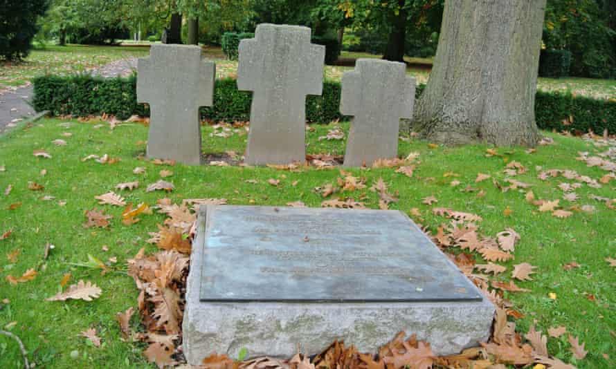 Copenhagen: German graves