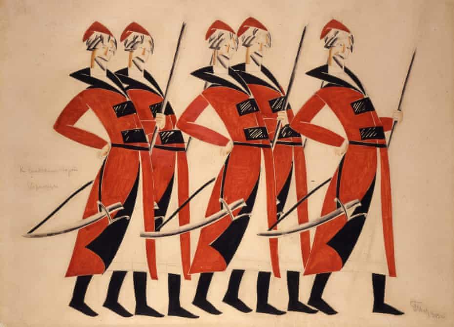Tatlin costume design Life for the Tsar
