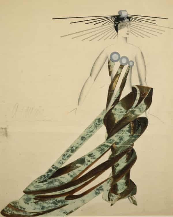 Queen of the Martians Alexandra Exter costume design Aelita