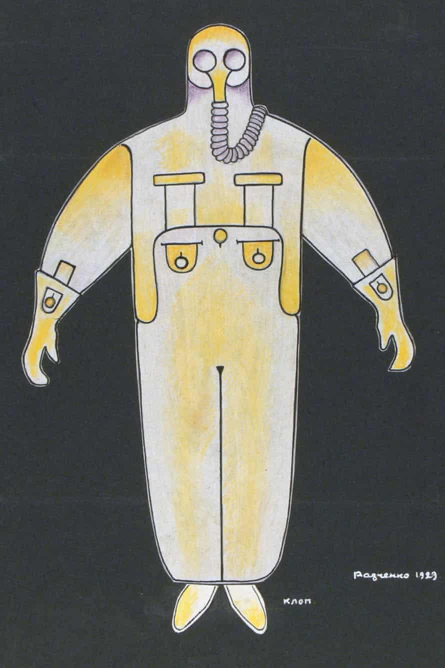 Bedbug costume Mayakovsky frozen Alexander Rodchenko
