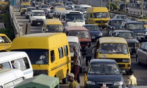Lagos bans car horns to combat city's deafening traffic