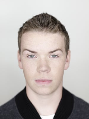 Will Poulter photographed in London.