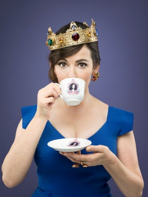 Nigella Lawson photographed for the cover of Observer Food Monthly.
