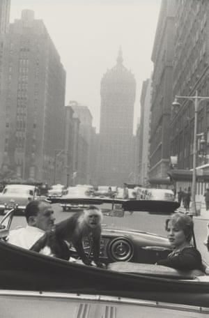 Park Avenue, New York, 1959.