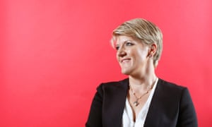 Clare Balding photographed at the Queen Elizabeth Olympic Park.