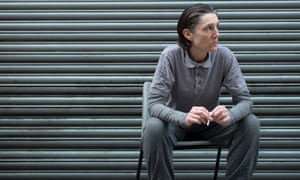 Harriet Walter in Henry IV at the Donmar.