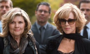 Connie Britton and Jane Fonda in This is Where I leave You.