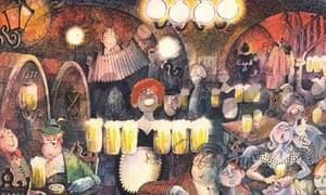 An illustraition by Mario Miranda