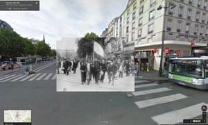 French reservist heading to Gare l'Est circa 1915