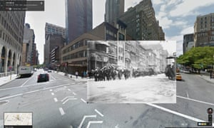 German reservists on 5th Ave. NYC. 1914