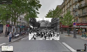 French reservists headed off to join their units in front of the Gare de l'Est, Paris, 1914