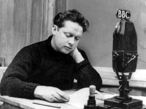 Thomas at work at the BBC