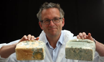 On a roll ... Michael Mosley investigates the dreaded carbohydrate in Trust Me, I'm a Doctor.