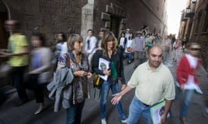 Hidden City Tours, using homeless people to offer a street's eye view of Barcelona