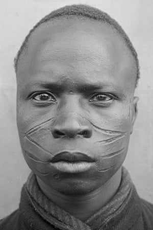 French colonial soldier Burkina Faso  WW1 prisoner