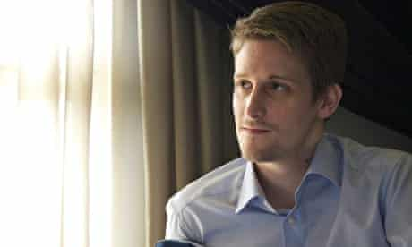 Citizenfour aka Edward Snowden. Photograph: The Guardian/EPA