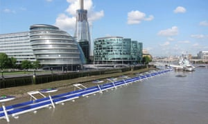 The proposed Thames Deckway.