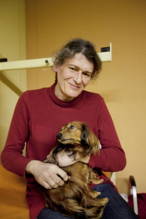 Justine is a homeless french transsexual woman with her dog Trek