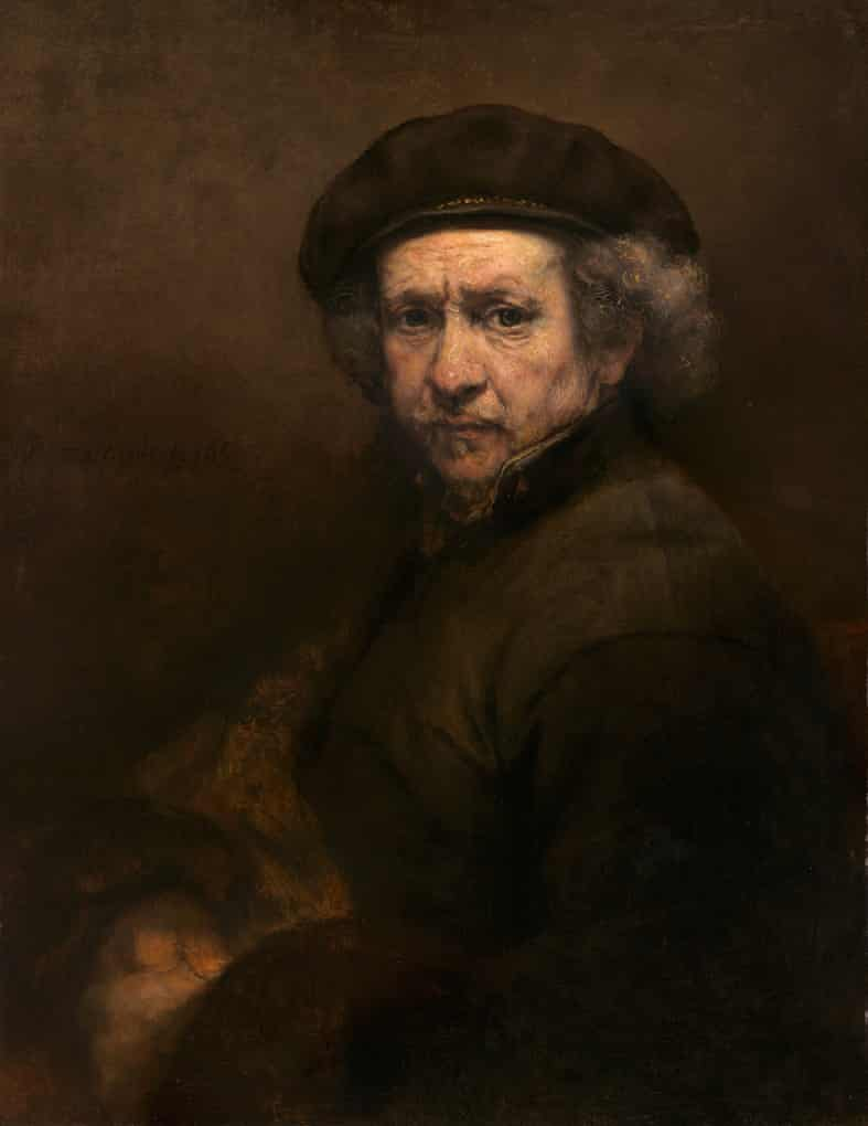 'Untold nuances from dignity to foolishness, fear, endurance and loss': self-portrait, 1659.
