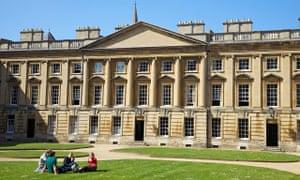 Peckwater Quadrangle, Christ Church, Oxford University, Oxford, Oxfordshire, England, UK