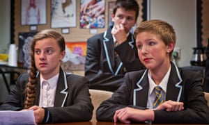 Students at the Clacton Coastal Academy