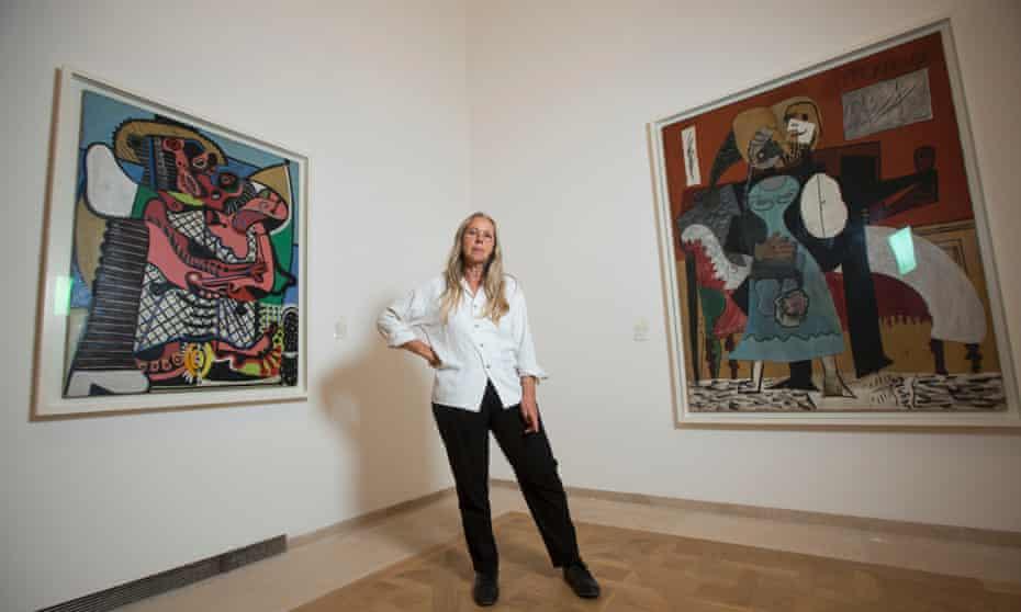 Anne Baldassari at the Picasso Museum in Paris.