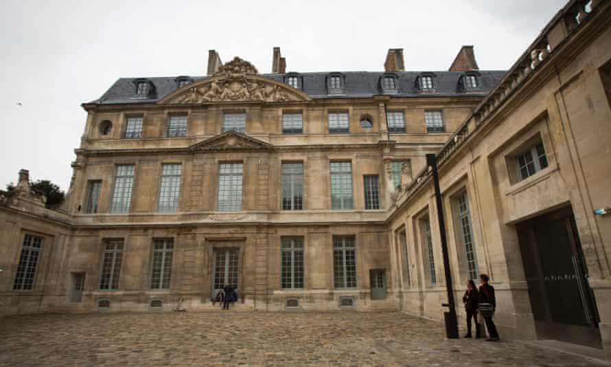 The Picasso Museum in the Marais quarter of Paris.
