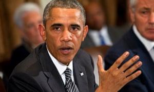 President Barack Obama speaks about Ebola.