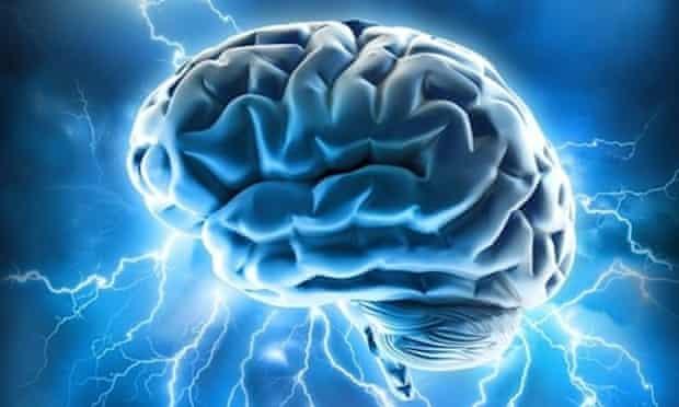 brain waves lightning