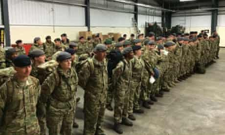 The British army is sending 91 medics to Sierra Leone to help in the fight against Ebola by operating a treatment centre specifically for healthcare workers.